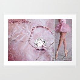 Dancing Queen... Diptych Art Print