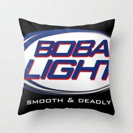 Boba-Light   Throw Pillow