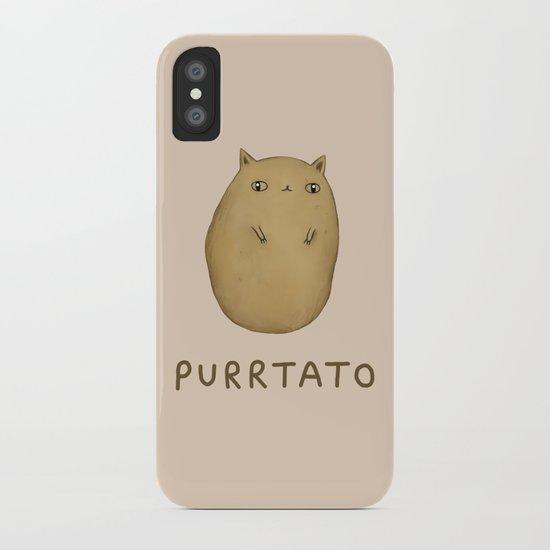 Purrtato iPhone Case
