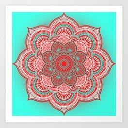 Mandala Lorana China Art Print