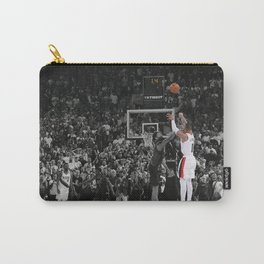Damian Lillard vs OKC Dame Time Poster Portla-nd Trail Blazers Basketball Hand Made Posters Canvas Print Wall Art Man Cave Gift Home Decor Carry-All Pouch