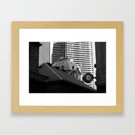Boston2 Framed Art Print