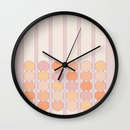 Lilac Shift Wall Clock