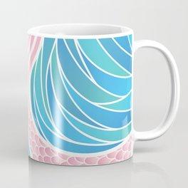 Pink Mermaid's Tail Coffee Mug