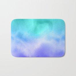 Blue Abstract Sky Bath Mat