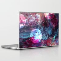 night sky Laptop & iPad Skins featuring Night Sky by Marlidesigns