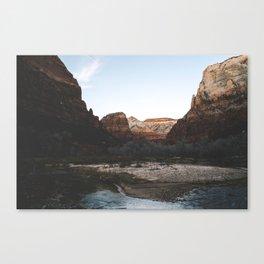 Zion 4. Canvas Print