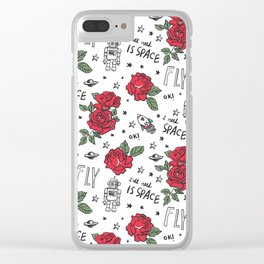 I need space :) Clear iPhone Case