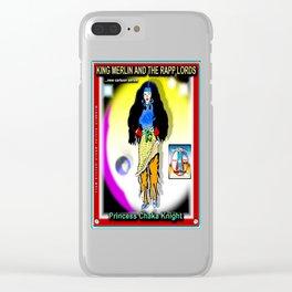 PRINCESS CHAKA KNIGHT Clear iPhone Case