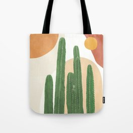 Abstract Cactus I Tote Bag