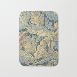 William Morris Acanthus Leaves Floral Art Nouveau Bath Mat