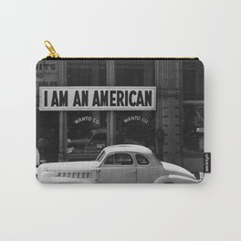 I Am An American Photo Dorothea Lange Carry-All Pouch