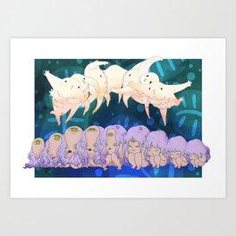 Little Movement Art Print