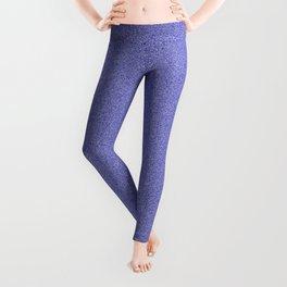 Dense Melange - White and Dark Blue Leggings