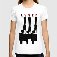 coven T-shirts featuring Coven by Ruler Of Nothing Important