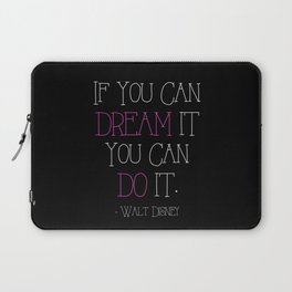 If You Can Dream It - pink Laptop Sleeve