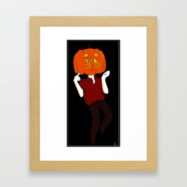 Like a Walking Gourd Framed Art Print