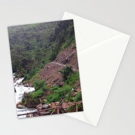 Alpine Bridge Adventure Stationery Cards
