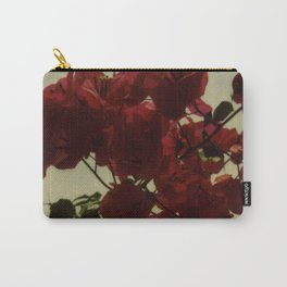 Floral Formula Carry-All Pouch