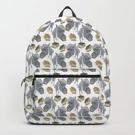 School Grey pony backpack Backpack