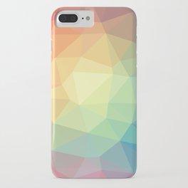 LOWPOLY RAINBOW iPhone Case