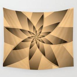 Star Spiral Wandbehang