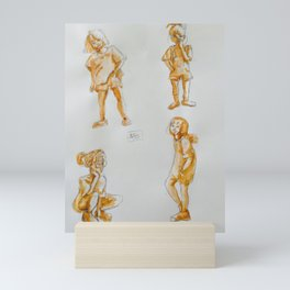 Etudes Mini Art Print