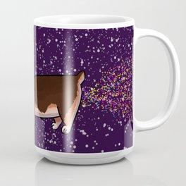 Sparkle Fart Corgi Coffee Mug