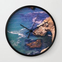 Big Sur California Cliffs Wall Clock