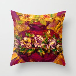 Sacred love II Throw Pillow