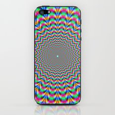 Psychedelic Zigzag Rings iPhone & iPod Skin