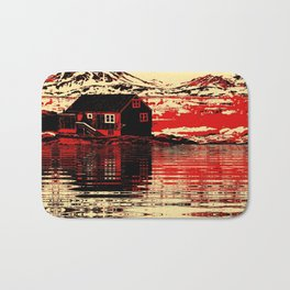 House on the Fjord Bath Mat