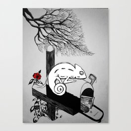 A Winter Story Canvas Print