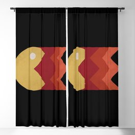 Vintage Retro Pacman Blackout Curtain