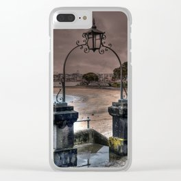 King Edwards Parade Auckland Clear iPhone Case