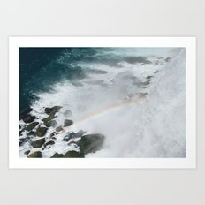 Rainbow of Niagara Falls Art Print