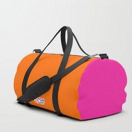 2C - orange and pink Duffle Bag