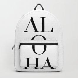 Aloha Tropics Summer Backpack