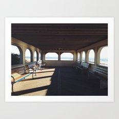 Cape May Beach Pavilion  Art Print