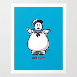 Kim Puft Art Print