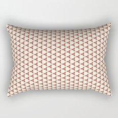 Three red pattern Rectangular Pillow