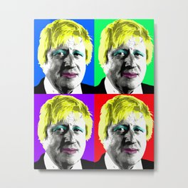Boris Monroe x 4 Metal Print