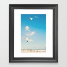 The Beach... Framed Art Print