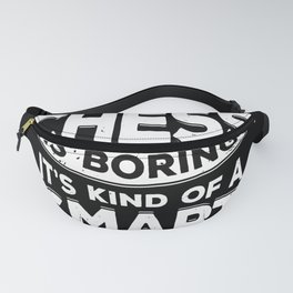 Chess Game Player Gift Fanny Pack