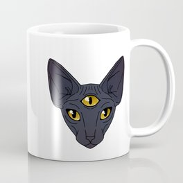 Third Eye Sphynx Coffee Mug
