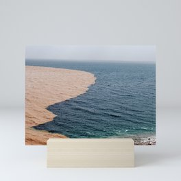 Muddy Dead Sea, Israel Mini Art Print