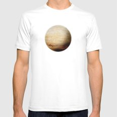 Element: Earth White Mens Fitted Tee MEDIUM