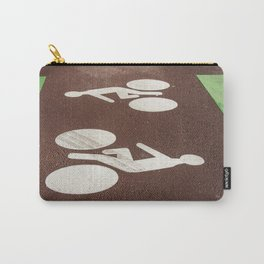 Road signage bike path Carry-All Pouch