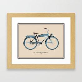 Vintage J.C. Higgins Bike Framed Art Print