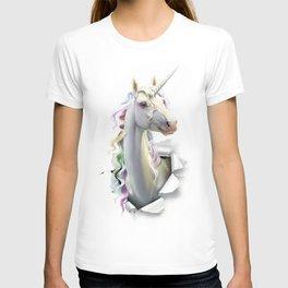 Pastel Pearl Unicorn T-shirt